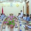 Chủ tịch UBND tỉnh tiếp lãnh đạo tỉnh Long An và nhà đầu tư khu công nghiệp.