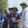 Chủ tịch UBND tỉnh Tiền Giang kiểm tra vớt lục bình