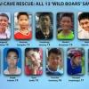 Giải cứu đội bóng mắc kẹt: Thái Lan thở phào…