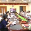 Hội nghị trực tuyến về nâng cao chất lượng khám chữa bệnh bảo hiểm tuyến cơ sở.