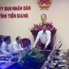 Lãnh đạo UBND tỉnh gặp gỡ các doanh nghiệp chuẩn bị đầu tư tại Tiền Giang