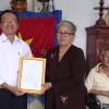 Hội Bảo trợ bệnh nhân nghèo tặng nhà tình nghĩa