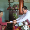 Lãnh đạo UBND tỉnh Tiền Giang thăm gia đình chính sách