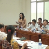 Ban Kinh tế Ngân sách – HĐND tỉnh Tiền Giang làm việc với UBND huyện Chợ Gạo