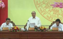 Thủ tướng Nguyễn Xuân Phúc làm việc với lãnh đạo tỉnh Tiền Giang