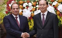 Báo chí Ai Cập tiếp tục phản ánh đậm chuyến thăm của Chủ tịch nước