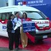 Ngân hàng BIDV – Chi nhánh Mỹ Tho tặng xe cứu thương