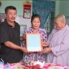Bàn giao nhà tình thương cho hộ nghèo huyện Cai Lậy