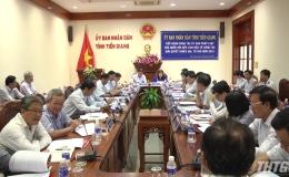 Đoàn công tác Ủy Ban Pháp luật của Quốc hội làm việc với tỉnh Tiền Giang