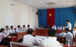 Chủ tịch UBND tỉnh tiếp xúc các hộ dân Khu công nghiệp Long Giang