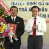 Lễ công bố và trao Quyết định bổ nhiệm Chánh án Tòa án nhân dân tỉnh Tiền Giang