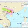 Bão Mangkhut suy yếu thành áp thấp, miền Bắc mưa to
