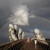 Cầu Vàng Đà Nẵng khuấy đảo truyền thông thế giới