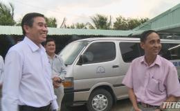 Chủ tịch UBND tỉnh Tiền Giang làm việc với HTX Tân Mỹ Chánh