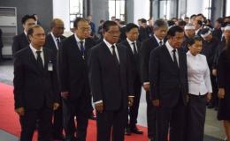 Thủ tướng Hun Sen đến Hà Nội viếng Chủ tịch nước Trần Đại Quang