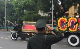 Lễ truy điệu và an táng Chủ tịch nước Trần Đại Quang
