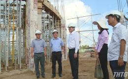 Chủ tịch UBND tỉnh kiểm tra tiến độ Dự án Quảng trường Trung tâm tỉnh
