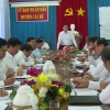 Lãnh đạo tỉnh giải quyết một số đề xuất, kiến nghị UBND huyện Cái Bè