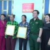 Bàn giao nhà tình nghĩa cho đối tượng chính sách huyện Gò Công Đông