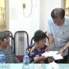 Trung ương Hội Người cao tuổi Việt Nam thăm và tặng quà cho người cao tuổi nghèo, cô đơn.