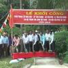 Khởi công xây dựng cầu nông thôn xã Tân Phú, huyện Tân Phú Đông