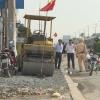 Giải tỏa lấn chiếm lề đường Khu công nghiệp Tân Hương