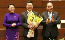 Ông Nguyễn Mạnh Hùng chính thức giữ chức vụ Bộ trưởng Bộ TT-TT