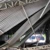 Xe tải đâm sập giàn giáo công trình, cửa hầm Thủ Thiêm bị phong toả