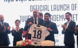 Học viện bóng đá Juventus Việt Nam chính thức thành lập