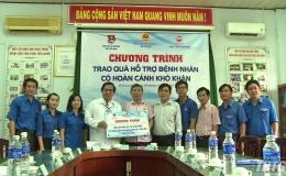 Đoàn ĐBQH tỉnh Tiền Giang tặng quà cho bệnh nhân