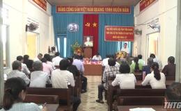 Đoàn Đại biểu Quốc hội tiếp xúc cử tri huyện Tân Phước