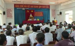 Đại biểu quốc hội tiếp xúc cử tri xã Thanh Hòa, Tx. Cai Lậy