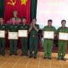 Bộ Chỉ huy Bộ đội Biên phòng Tiền Giang khen thưởng đột xuất