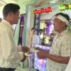 Ban An toàn giao thông tỉnh Tiền Giang trao tiền hỗ trợ nạn nhân bị tai nạn giao thông