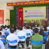 Lãnh đạo UBND tỉnh Tiền Giang gặp gỡ người dân xã Trung Hòa.