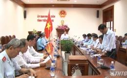 Chủ tịch UBND tỉnh giải quyết tranh chấp của công dân huyện Chợ Gạo