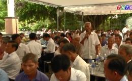Chính quyền chủ động gặp gỡ người dân, lắng nghe và chia sẻ