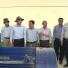 Chủ tịch UBND tỉnh thăm trạm bơm tăng áp Chợ Gạo