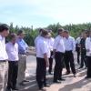 Chủ tịch UBND tỉnh Tiền Giang kiểm tra các dự án do Công ty TICCO làm chủ đầu tư