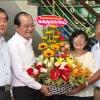 Lãnh đạo UBND tỉnh Tiền Giang thăm các thầy, cô giáo đã nghỉ hưu
