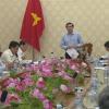 Lãnh đạo UBND tỉnh Tiền  Giang kiểm tra tiến độ các dự án sau hội nghị xúc tiến đầu tư