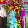 Bí thư Tỉnh ủy dự họp mặt Ngày nhà giáo Việt Nam tại trường mầm non