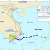Bão số 9 suy giảm thành áp thấp nhiệt đới trên biển Đông