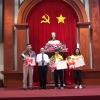 Khen thưởng VĐV đạt Huy chương vàng quốc tế và tiễn Đoàn thể thao Tiền Giang dự Đại hội TDTT toàn Quốc