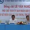 Lãnh đạo UBND tỉnh Tiền Giang gặp gỡ nhân dân xã Tân Trung, huyện Gò Công Đông