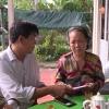 Ban An toàn giao thông tỉnh Tiền Giang thăm gia đình nạn nhân TNGT