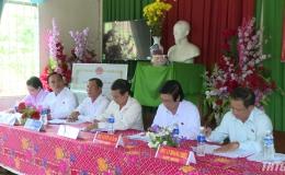 Chủ tịch HĐND tỉnh Tiền Giang tiếp xúc cử tri huyện Châu Thành