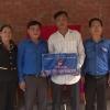 Đoàn khối các cơ quan tỉnh Tiền Giang bàn giao nhà tình bạn