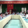HĐND tỉnh Tiền Giang làm việc với Sở VH-TT-DL