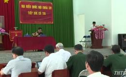 Đoàn Đại biểu Quốc hội Tiền Giang tiếp xúc cử tri báo cáo kết quả kỳ họp thứ 6, Quốc hội khóa XIV